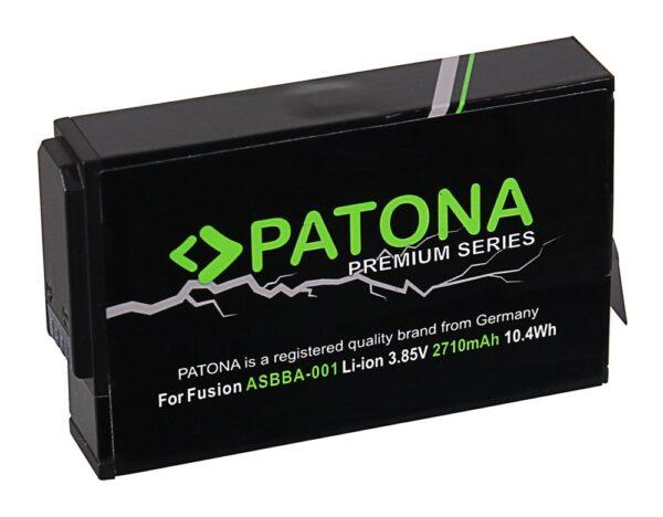 Acumulator tip GoPro Fusion ASBBA-001 akku 1282 1