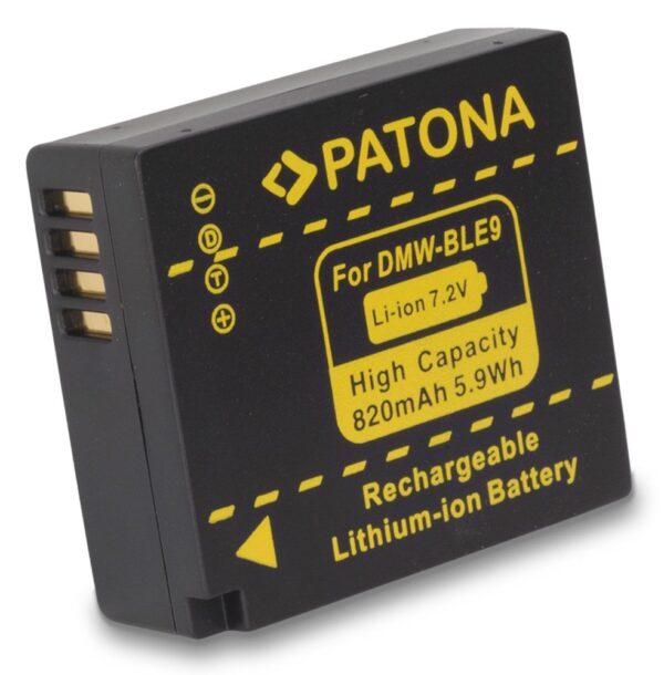 Acumulator tip Panasonic DMW-BLE9 DMW BLE9 E BLE9 akku Pat BLE9 1