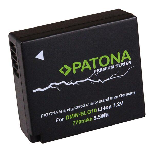 Acumulator Premium tip Panasonic DMW-BLG10 DMW BLG10 DMW-BLG10E akku Pat BLG10 prem 1