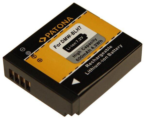 Acumulator tip Panasonic DMC-GM1 DMW-BLH7E GM1