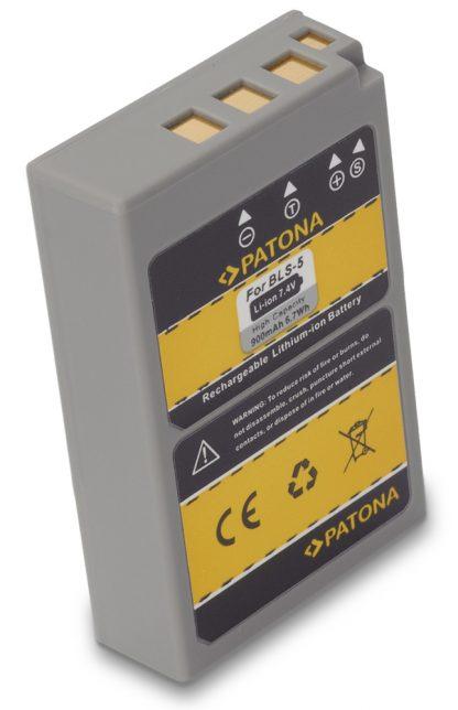 Acumulator tip Olympus BLS-5 BLS5 BLS 5 akku Pat BLS 5 1