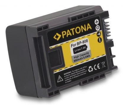 Acumulator tip Canon BP-808 BP 808 akku Pat BP808 1