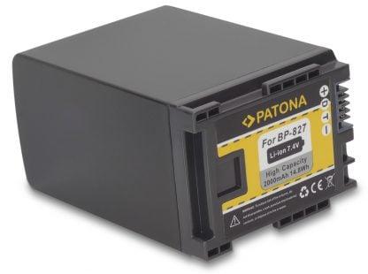Acumulator tip Canon BP-827 akku Pat BP 827 2000 1