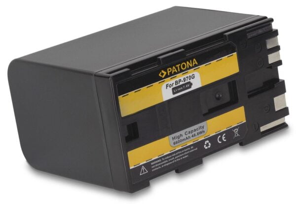 Acumulator tip Canon BP-925 BP-955 BP-970G BP-975 BP925 akku Pat BP 925 1