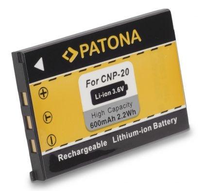 Acumulator tip Casio NP-20 akku Pat CNP 20 1