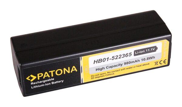 Acumulator tip DJI HB01-522365 Osmo Handheld 4k Camera Zenmuse X3 X5 akku Pat DJI 1267 1