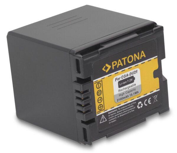 Acumulator tip Panasonic CGA-DU21 CGADU21 akku Pat DU21 1