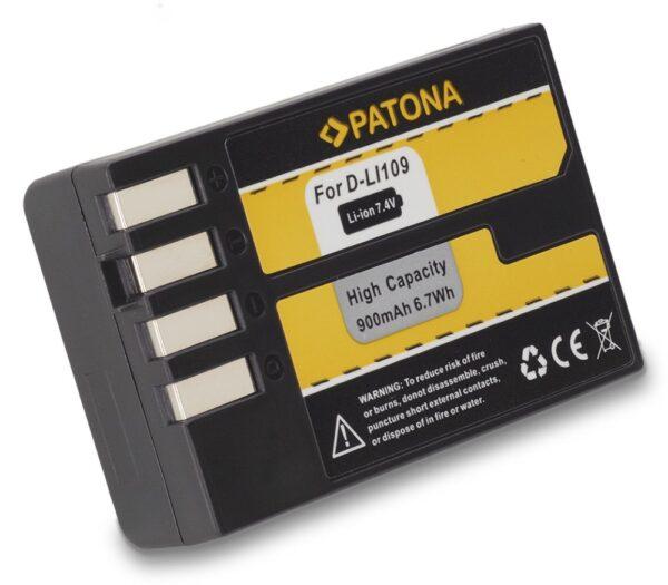 Acumulator tip Pentax D-Li109 akku Pat D LI109 1