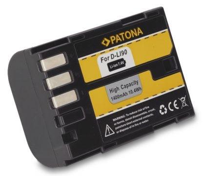 Acumulator tip Pentax D-Li90 K01 K5 II IIs K7 akku Pat D LI90 1