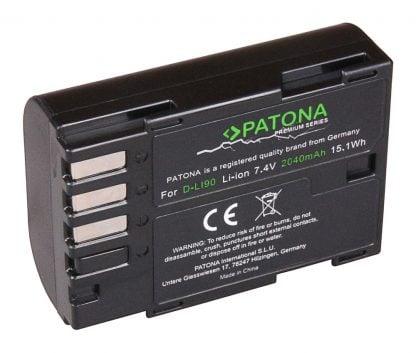 Acumulator Premium tip Pentax D-Li90 K01 K5 II IIs K7 akku Pat D LI90 prem 1