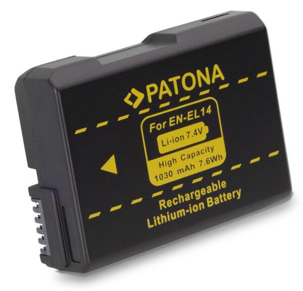 Acumulator tip Nikon EN-EL14 akku Pat EN EL14 1