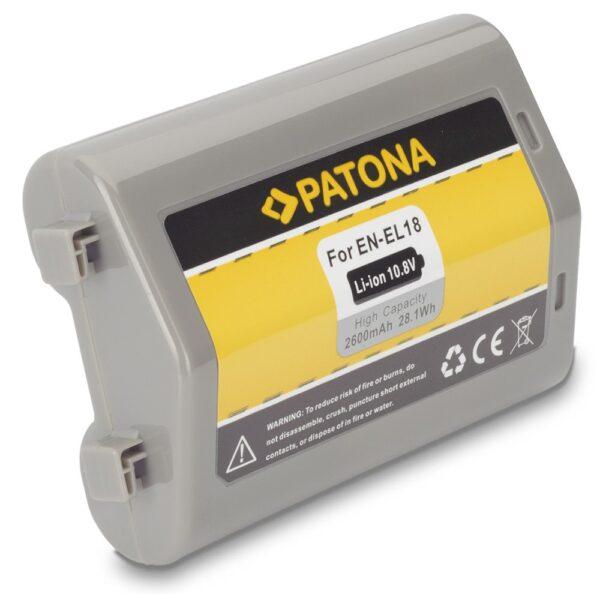 Acumulator tip Nikon EN-EL18 ENEL18 celule Samsung akku Pat EN EL18 1