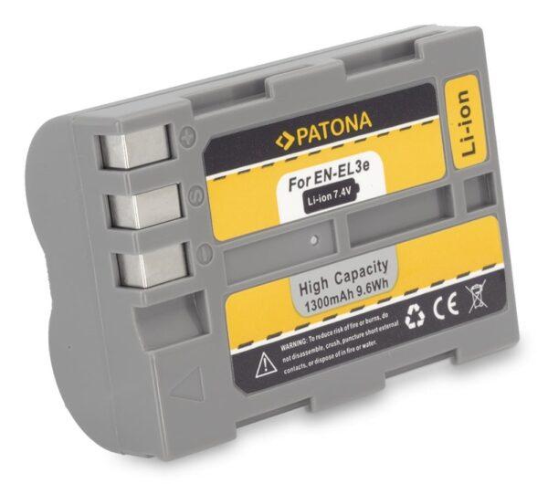 Acumulator tip Nikon EN-EL3 ENEL3 EN-EL3e ENEL3e akku Pat EN EL3e 1