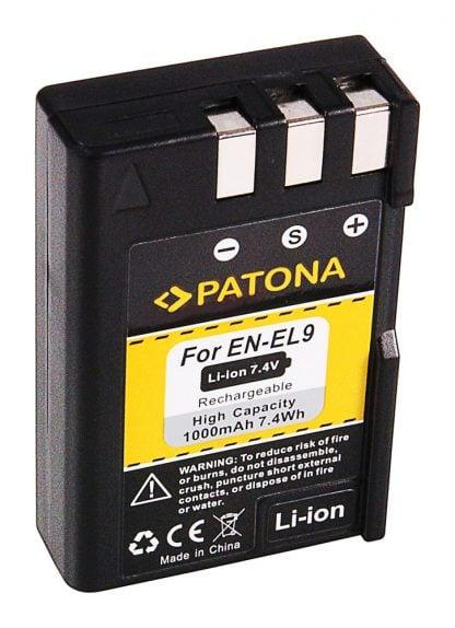 Acumulator tip Nikon EN-EL9 ENEL9 akku Pat EN EL9 2 Acumulator tip Nikon EN-EL9 ENEL9