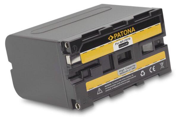 Acumulator tip Sony NP-F970 NP-F550 NP-F750 NP-F990 akku Pat F970 6600 1