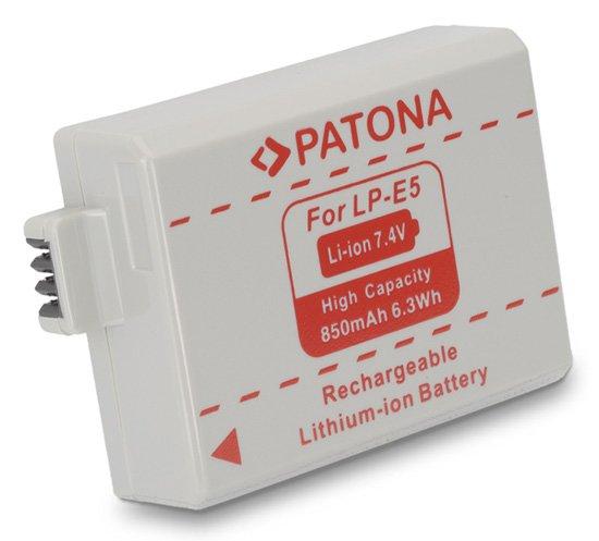 Acumulator tip Canon LP-E5 akku Pat LP E5 1