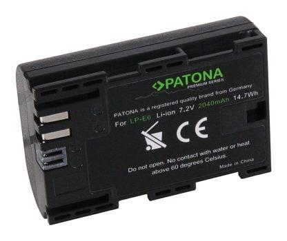Acumulator Premium tip Canon LP-E6 akku Pat LP E6 Prem2040 1