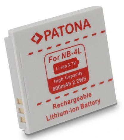 Acumulator tip Canon NB-4L akku Pat NB 4L 1