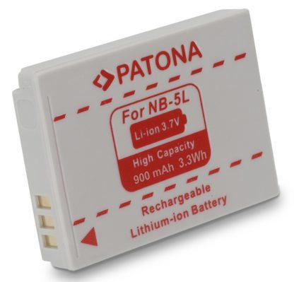 Acumulator tip Canon NB-5L akku Pat NB 5L 1