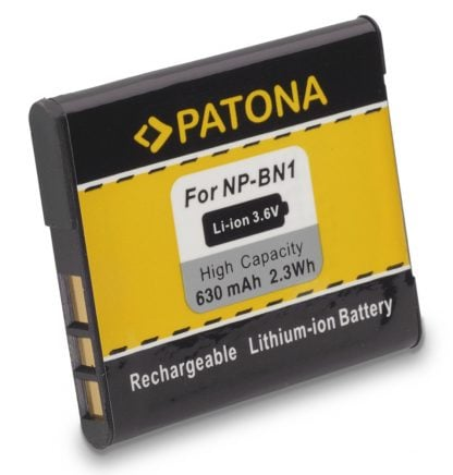 Acumulator tip Sony NP-BN1 akku Pat NP BN1 1