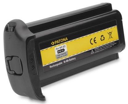 Acumulator tip Canon NP-E3 EOS-1D Mark II EOS-1Ds Mark II akku Pat NP E3 1