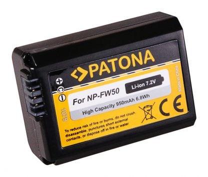 Acumulator tip Sony NP-FW50 akku Pat NP FW50 950 1