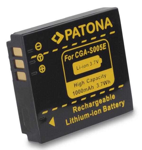 Acumulator tip Panasonic CGA-S005 S005e akku Pat S005 1