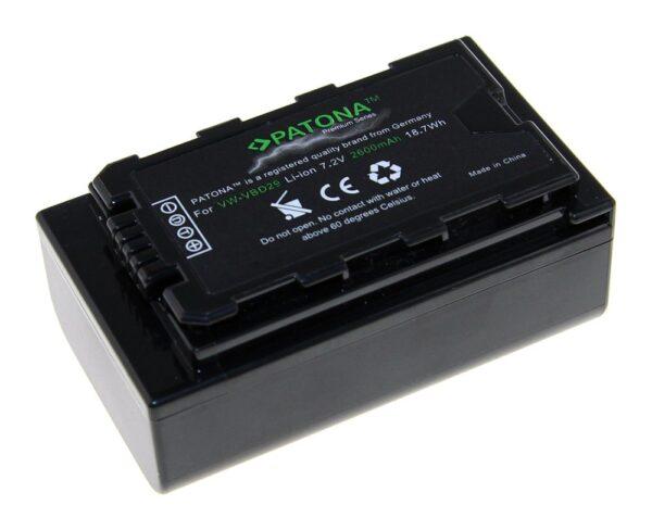 Acumulator Premium tip Panasonic VW-VBD29 AJ-PX298MC HDC-MDH2GK Aj-HPX270 akku Pat VBD29 1