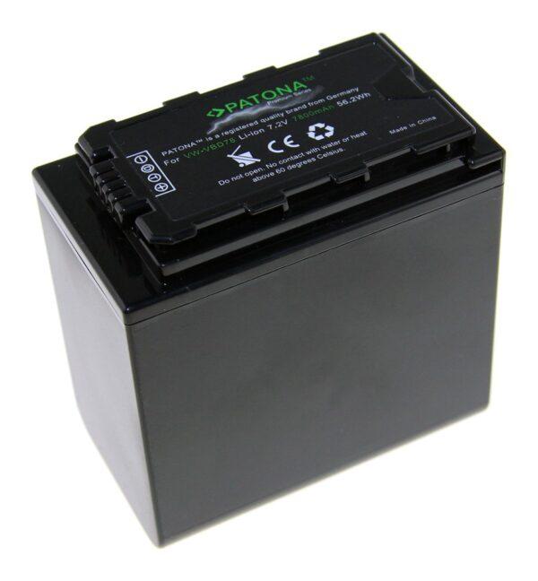 Acumulator Premium tip Panasonic VW-VBD78 AJ-PX298MC HDC-MDH2GK akku Pat VBD78 1