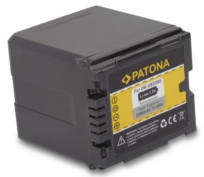 Acumulator tip Panasonic VW-VBG260 VW VBG260 akku Pat VBG260 1