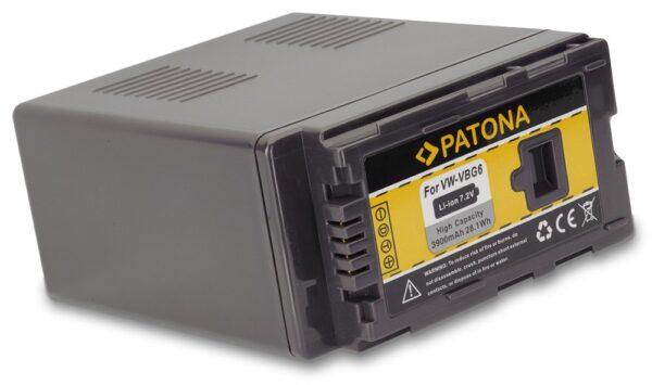 Acumulator tip Panasonic VW-VBG6 VW VBG6 mdh1 akku Pat VBG 3900 1 1