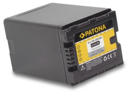 Acumulator tip Panasonic VW-VBN390 VW-VBN260 VW-VBN130 akku Pat VBN390 1