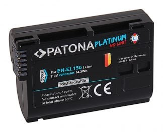 Acumulator Platinum tip Nikon EN-EL15 EN-EL15b