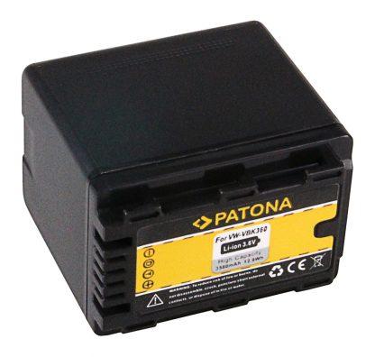 Acumulator tip Panasonic  VW-VBK360 VBK360 VBK 360 VBK 180 akku pat VBK360 1103 2