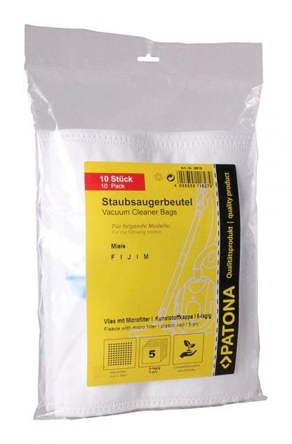 10 saci aspirator + 1 microfiltru pentru Miele F J M saci 9519 2 1
