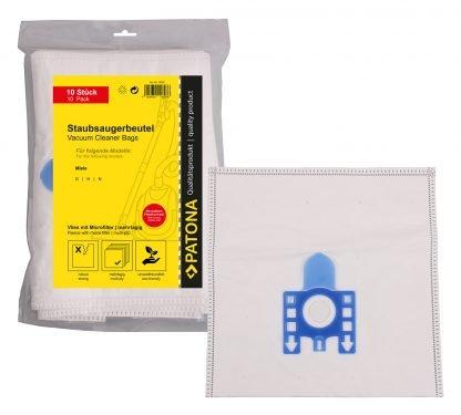 10 saci aspirator + 1 microfiltru pentru Miele tip GHN G H N GN sintetici saci 9520 5