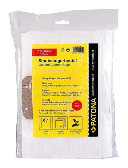 10 saci aspirator + 1 microfiltru pentru Electrolux Philips FC9071 FC9170 FC9160 saci 9585 2 1