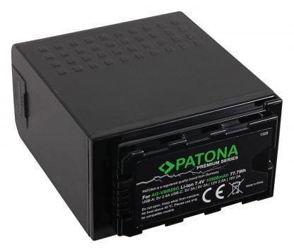Acumulator tip Panasonic AG-VBR89G USB-Port USB-C / USB si incarcator PD 1328 2 Acumulator Platinum tip Olympus