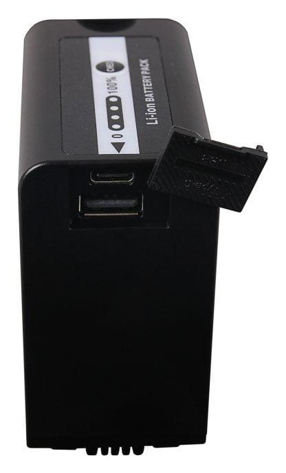 Acumulator tip Panasonic AG-VBR89G USB-Port USB-C / USB si incarcator PD 1328 7 Acumulator Platinum tip Olympus