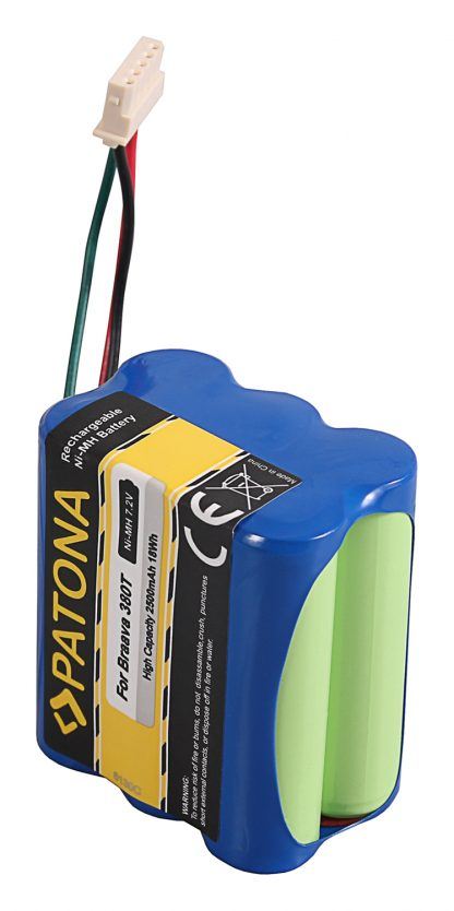Acumulator tip iRobot Braava 380 380T 390 390T Mint Plus 5200 5200C akku pat braava390t 6130 2 Acumulator tip iRobot Braava