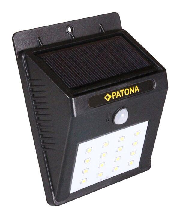 Lampa solara cu senzor de miscare 16 LED-uri senzor pat TR16 Lampa solara cu senzor de miscare 16 LED-uri