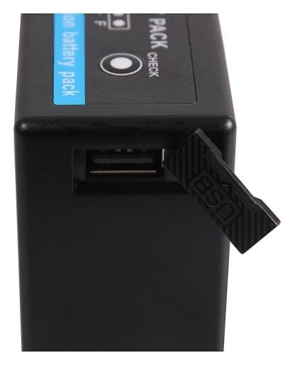 Acumulator Premium tip Panasonic VW-VBG6 si ca Powerbank akku pat VBG6 prem USB Acumulator Premium tip Panasonic VW-VBG6 HDC-HS700