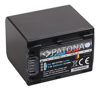 Acumulator Platinum tip Sony NP-FV70 NP-FV100