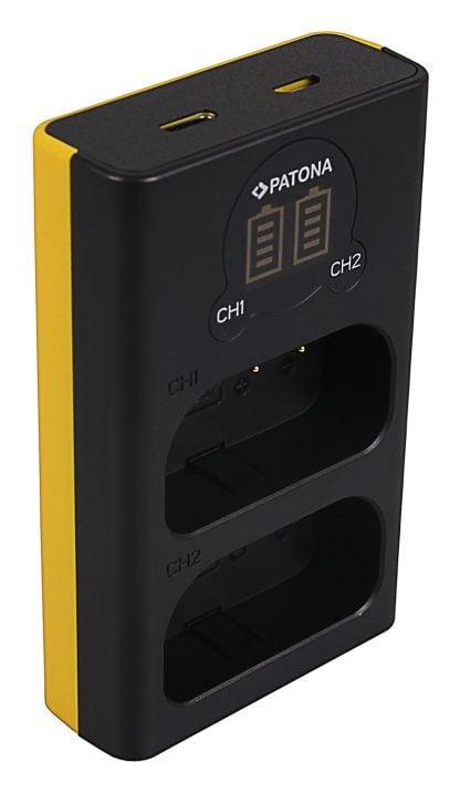 Incarcator Dual USB LCD tip Panasonic DMW-BLJ31