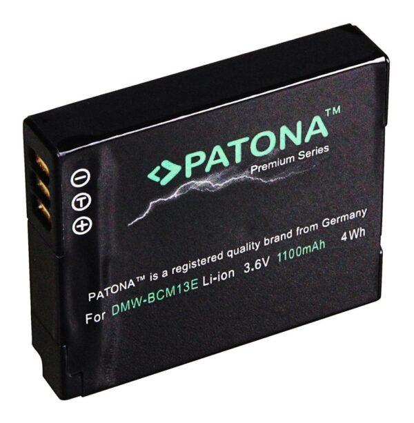Acumulator Premium tip Panasonic DMW-BCM13 akku Pat BCM13 prem NP-FV100 NP-FV70