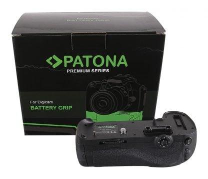 Grip cu telecomanda tip Nikon D800 D800E D810 D810A MB-D12H pt 1 EN-EL15 grip pat EN EL15 1496 cutie Grip cu telecomanda tip Panasonic G9 DMW-BGGH9RC pt 1 x DMW-BLF19