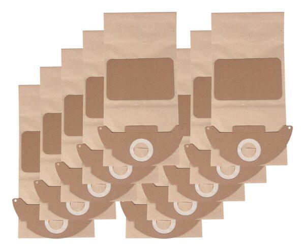 10 buc saci de hartie aspirator Karcher WD2 Premium tip 6.904-143.0 6.904-322.0 lang saci 9581 6.904 322
