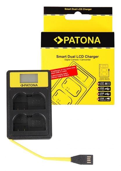Incarcator Smart Dual USB LCD tip Sony Nikon EN-EL15 D600 D610 D7000 D7100 D800 D8000 D800E 141624 1