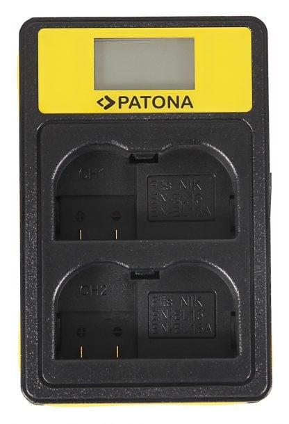 Incarcator Smart Dual USB LCD tip Sony Nikon EN-EL15 D600 D610 D7000 D7100 D800 D8000 D800E 141624 2