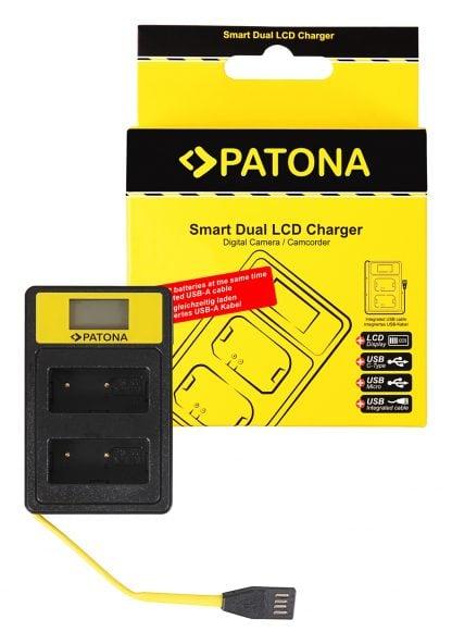 Incarcator Smart Dual USB LCD tip Fuji NP-W126 HS30-EXR HS33-EXR 141645 1